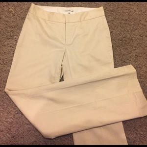 Banana Republic Martin cream trousers